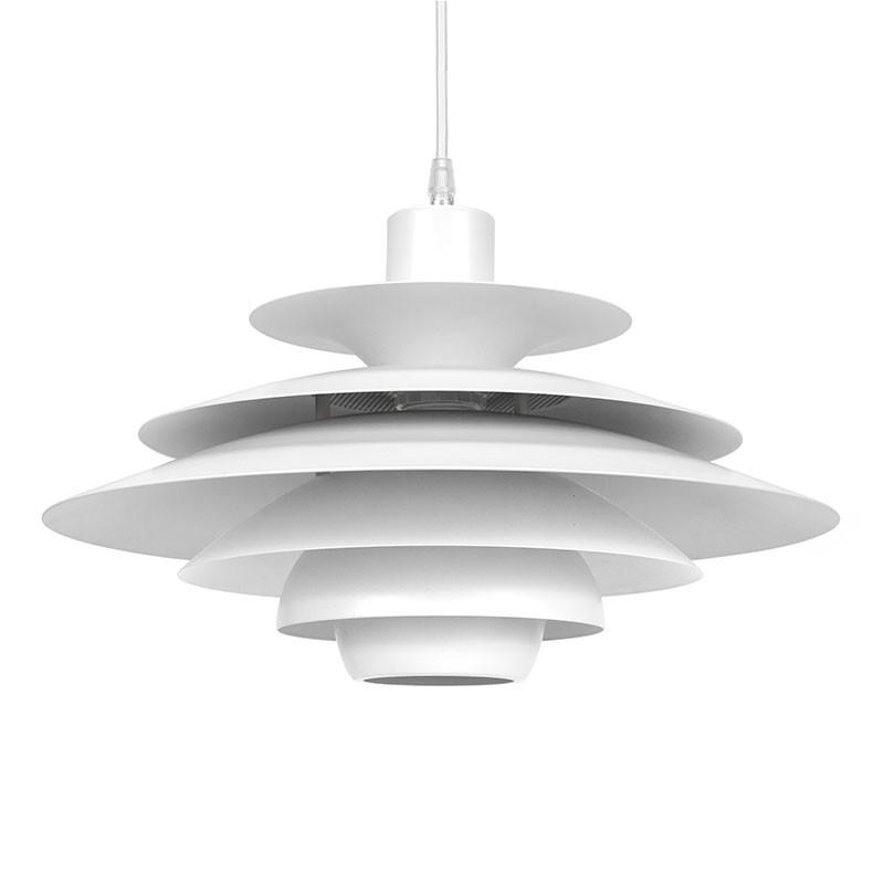 Deense vintage hanglamp design Kurt Wiborg