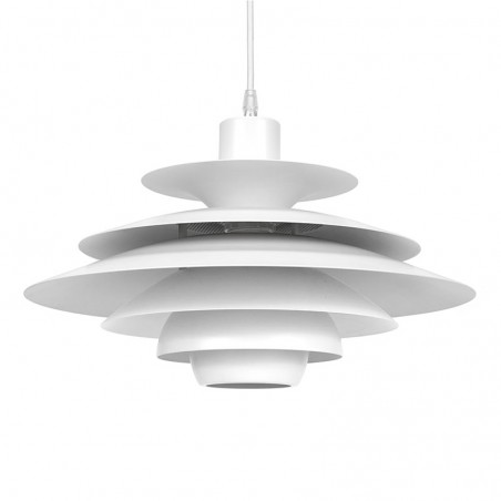 Danish vintage hanging lamp design Kurt Wiborg