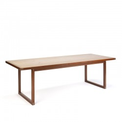 Danish vintage coffee table design Rud Thygesen for Heltborg