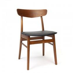 Danish dining table chair vintage model in teak
