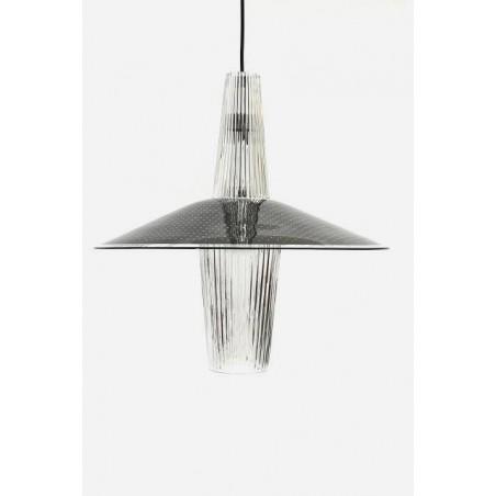 Glazen jaren 50 hanglamp
