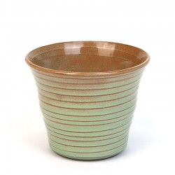 Green small model vintage ADCO small flower pot