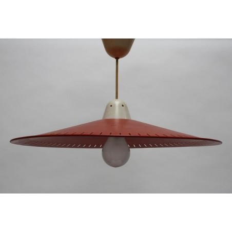 Philips hanging lamp red