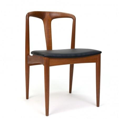 Vintage Juliane design stoel ontwerp Johannes Andersen
