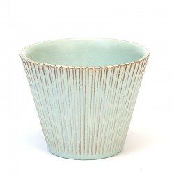 Pastel green vintage small flower pot from ADCO