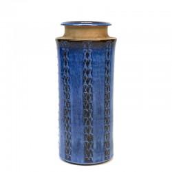 Grote Deense vintage vaas ontwerp Maria Philippi voor Søholm