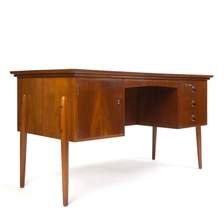 Teak vintage Danish spacious desk