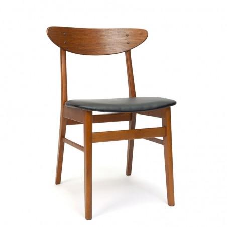 Deense Farstrup model 210 stoel vintage