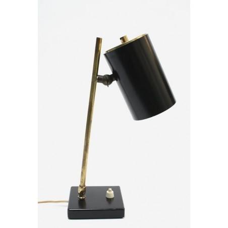 Messing Tafellamp jaren 50 vintage design