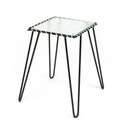Fifties vintage small plant table