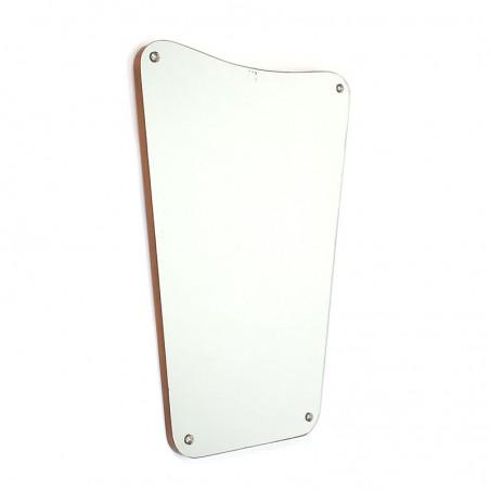 Vintage Danish mirror with organic design
