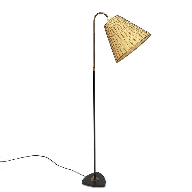 Vijftiger jaren vintage vloerlamp
