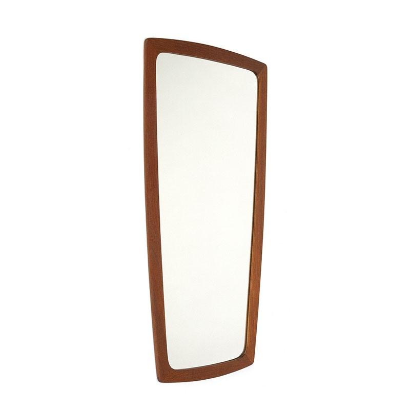 Deense vintage organisch gevormde spiegel