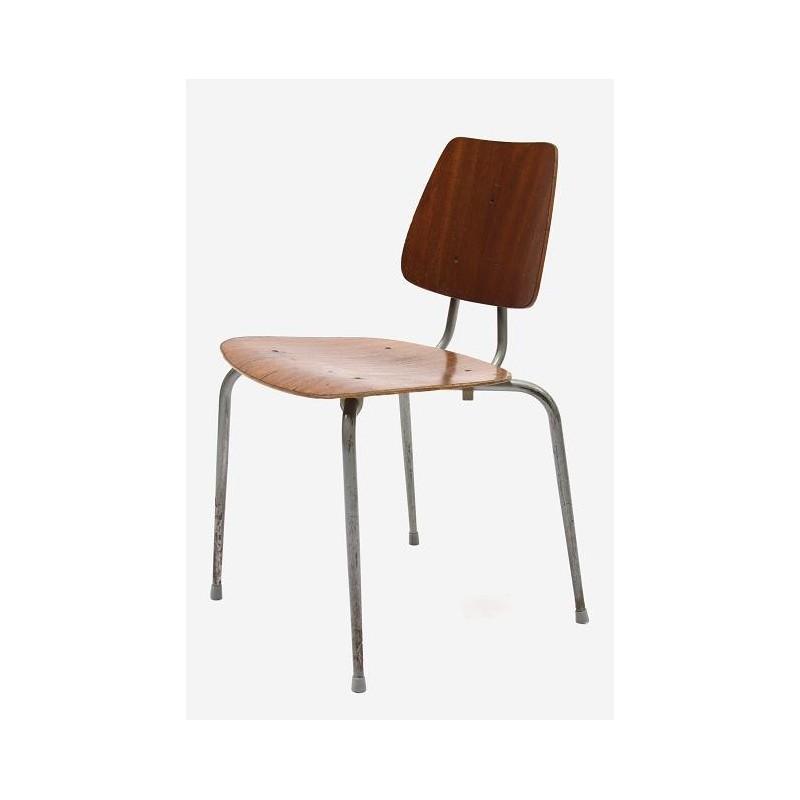 Plywood school stoel nr. 2