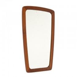 Organically designed small Danish vintage mirror