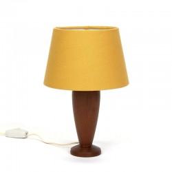 Teakhouten Deens klein model tafellamp