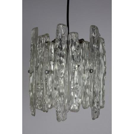 Plastic hanging lamp ice