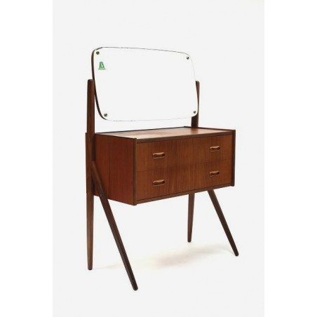 Teak dressing table from Scandinavia