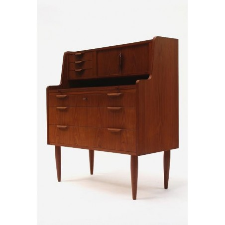 Secretaire met plywood