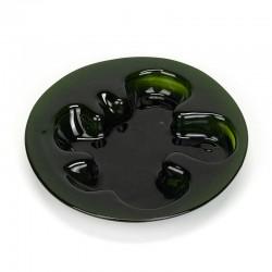 Large model vintage glass Holmegaard bowl