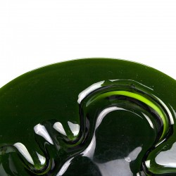 Groot model vintage glazen Holmegaard schaal