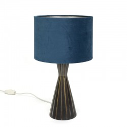 Danish ceramic table lamp vintage sixties