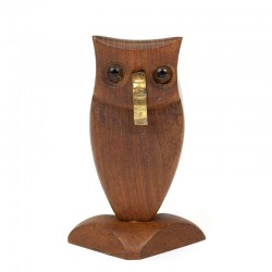 Danish vintage bottle opener as Owl