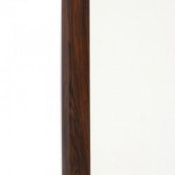 Palissanderhouten Deense vintage spiegel