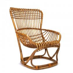 Italian vintage lounge chair design Tito Agnoli for Bonacina