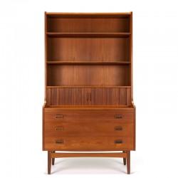 Danish vintage wall cabinet design Johannes Sorth for Nexø