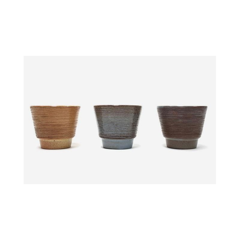 ADCO set of 3 flowerpots