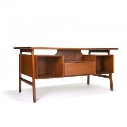 Teak Danish design desk model 75 by Omann Jun