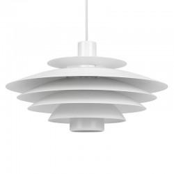 Wit vintage model Deense hanglamp