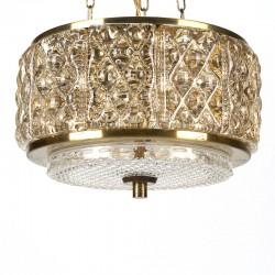 Deense vintage Vitrika Gallapendel hanglamp