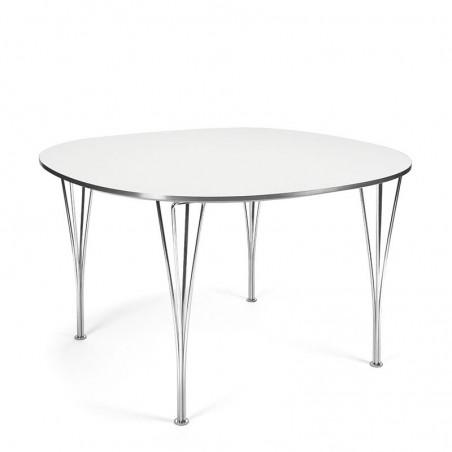 Fritz Hansen Super-Circular dining table with span legs