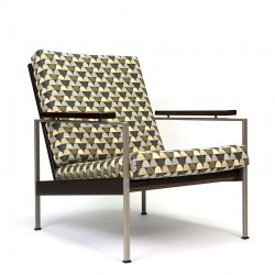 Nederlandse vintage design fauteuil Lotus ontwerp Rob Parry