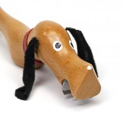 Danish vintage opener as dachshund
