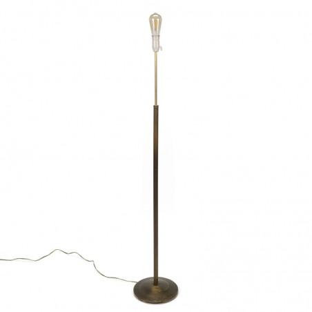 Minimalist Classic Vintage Brass Floor Lamp