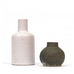 Set of 2 vintage miniature Mobach vases