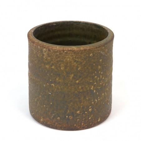 Dutch vintage ceramic flower pot from Mobach
