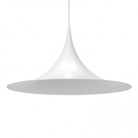 Vintage Semi hanging lamp design Bonderup and Thorup for F&M