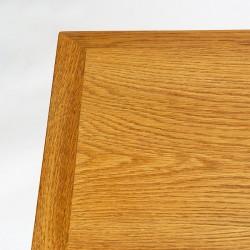 Oak vintage coffee table design Borge Mogensen for FDB