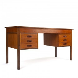 Danish vintage desk in teak