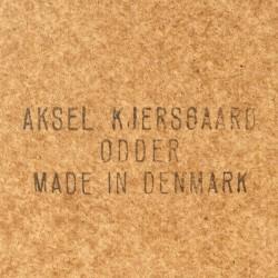 Large Danish Aksel Kjersgaard model 168 oak mirror