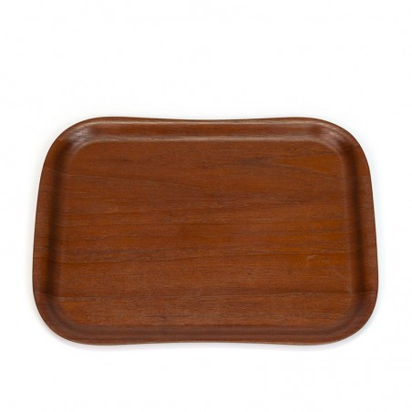 Vintage teak Finnish tray by Svens Krona