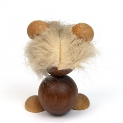 Small Danish vintage mouse in teak