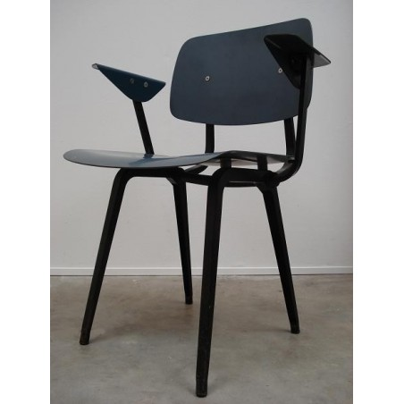 Friso Kramer first edition Revolt chair in blue