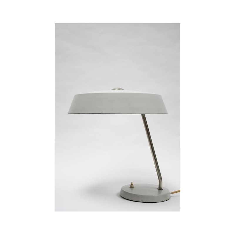 Grey desk lamp