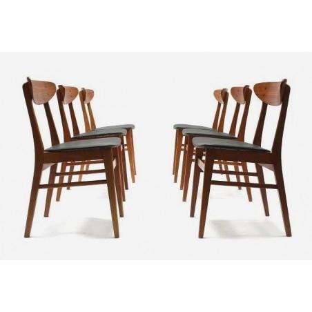 Set van 6 stoelen van Farstrup