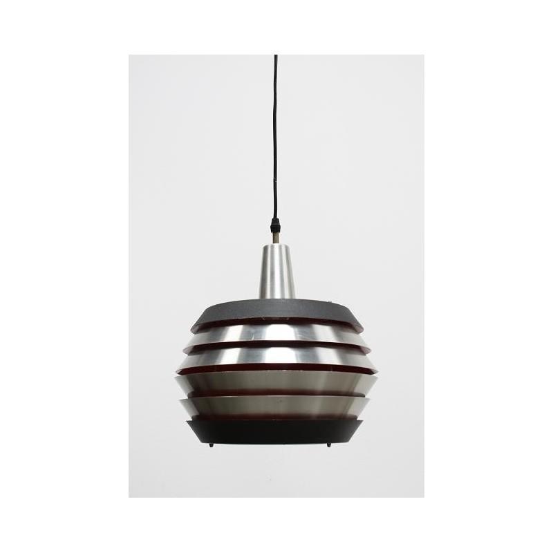 Scandinavische metalen schijven lamp
